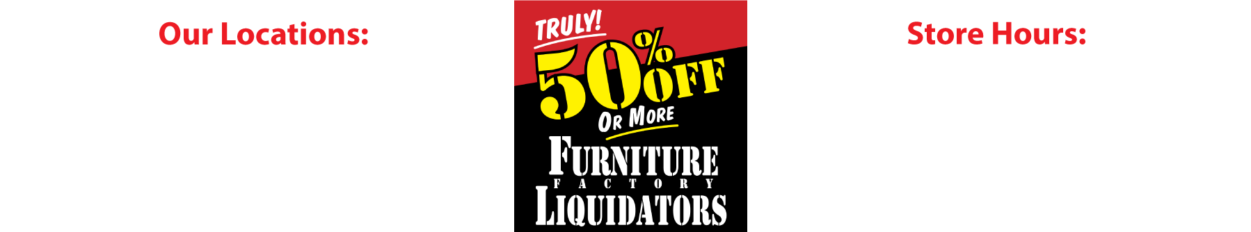 Furniture Factory Liquidators
